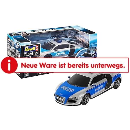Revell RC Fahrzeuge 1:24 - Audi R8 Polizei - Bild 1