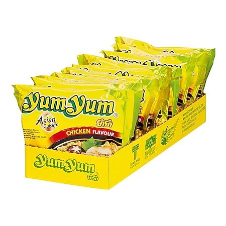 Yum Yum Instantnudeln Huhn 60 g, 10er Pack - Bild 1