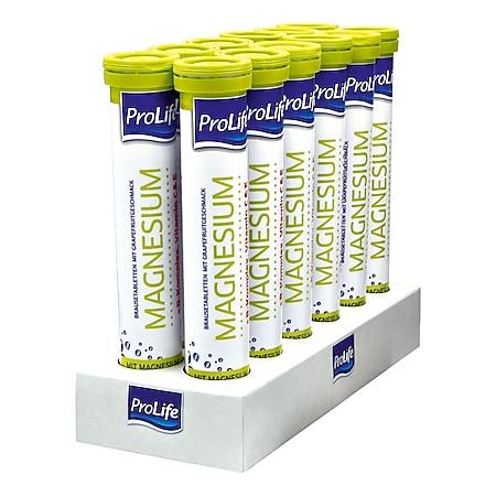 ProLife Magnesium Brausetabletten 102 g, 12er Pack - Bild 1