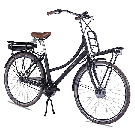 Llobe Alu Elektro City Bike Rosendaal 2 28 Zoll Lady schwarz 36V/13,2Ah - Bild 1