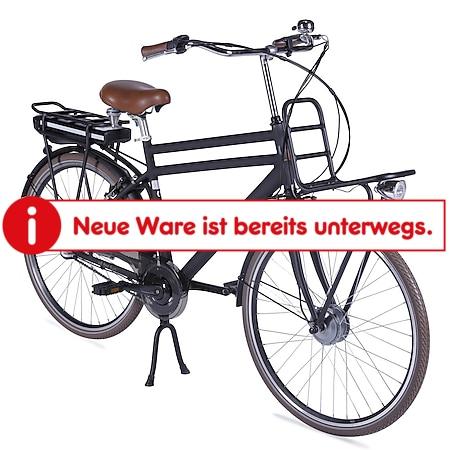 Llobe Alu Elektro City Bike Rosendaal 2 28 Zoll Gent schwarz 36V/13,2Ah - Bild 1