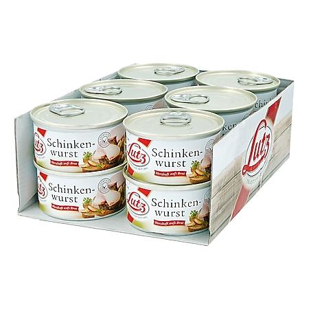 Lutz Schinkenwurst 125 g, 12er Pack - Bild 1