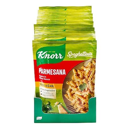 Knorr Spaghetteria Parmesana 163 g, 10er Pack - Bild 1