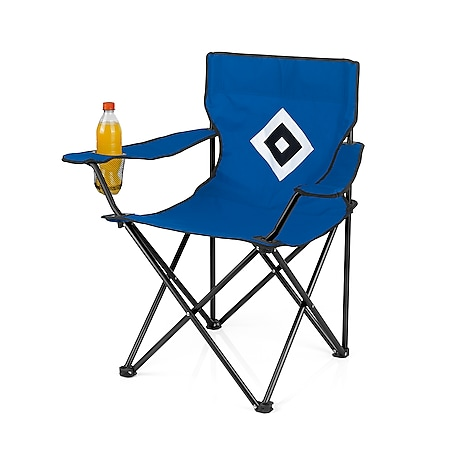 HSV Campingstuhl faltbar 80x50cm blau mit Logo - Bild 1