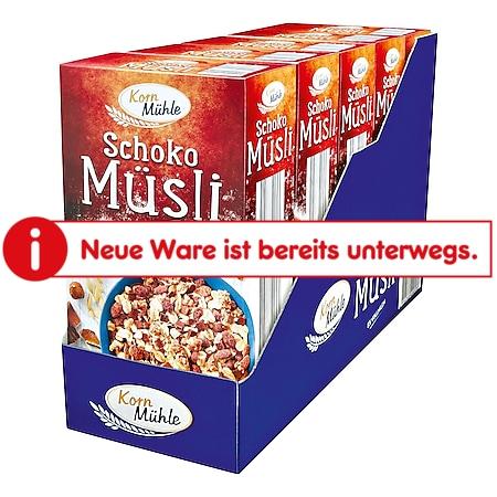 Kornmühle Schoko Müsli 750 g, 5er Pack - Bild 1