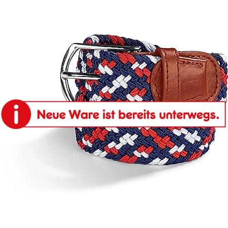SoC Damen und Herren Strechgürtel, 115 cm, navy/rot/weiß - Bild 1