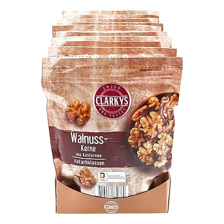 Clarkys Walnusskerne 200 g, 10er Pack - Bild 1
