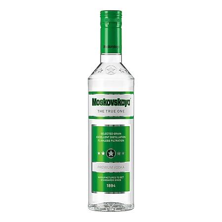 Moskovskaya russischer Vodka 38,0 % vol 0,5 Liter - Bild 1