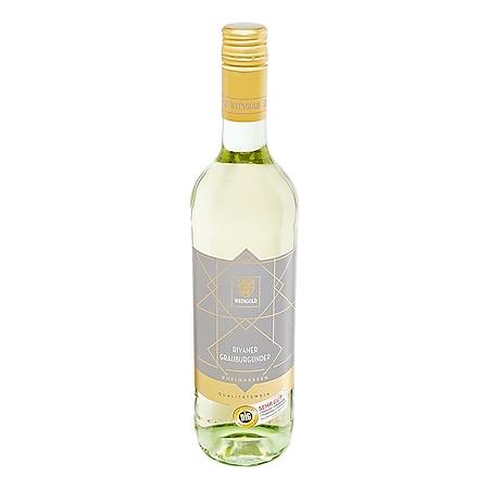 Weingold Rivaner Grauburgunder Qualitätswein Rheinhessen DLG-SEHR GUT 11,5 % vol 0,75 Liter - Bild 1