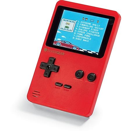 Silvergear tragbare Retro Spielekonsole - rot - Bild 1