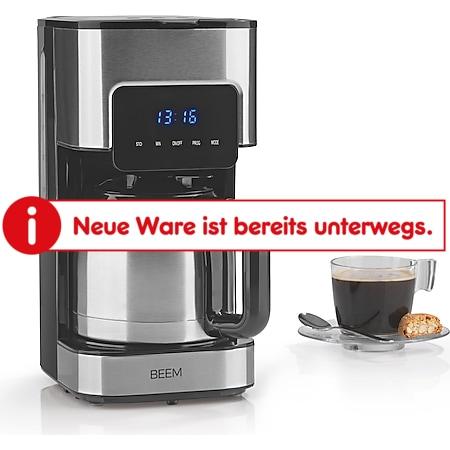 BEEM Kaffeemaschine Fresh Aroma Touch Thermo 800W Edelstahl/schwarz mit Timer - Bild 1