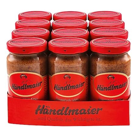 Händlmaier Süßer Hausmachersenf 200 ml, 12er Pack - Bild 1