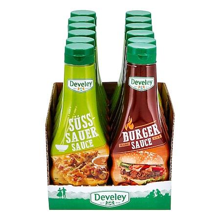 Develey Feinkostsaucen 250 ml, verschiedene Sorten, 12er Pack - Bild 1