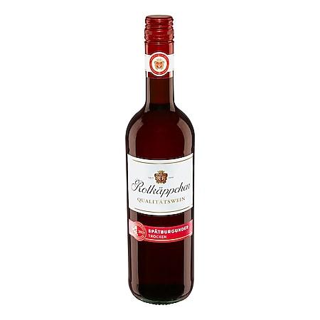 Rotkäppchen Spätburgunder rot Qualitätswein 12,0 % vol 0,75 Liter - Bild 1