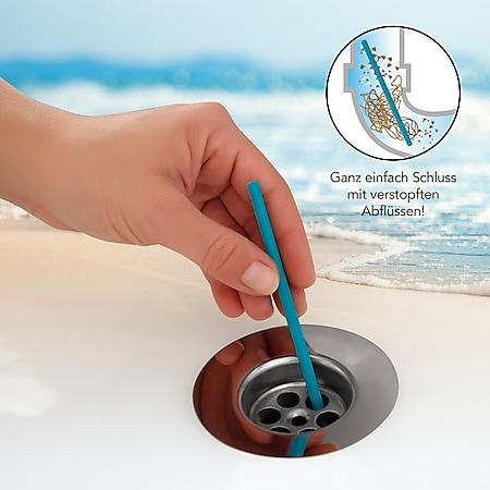 MAXXMEE Abflussreiniger-Stick Meeresbrise 50er-Set blau - Bild 1