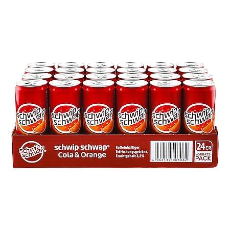 Schwip Schwap 0,33 Liter Dose, 24er Pack - Bild 1