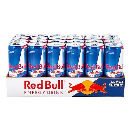 Red Bull Energy Drink 0,355 Liter Dose, 24er Pack - Bild 1