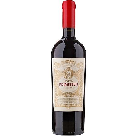 Evita Primitivo IGT Puglia 13,0 % vol 0,75 Liter - Bild 1