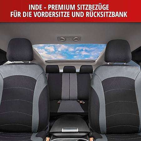 Autositzbezug Inde schwarz grau mit ZIPP IT Reissverschluss System - Bild 1