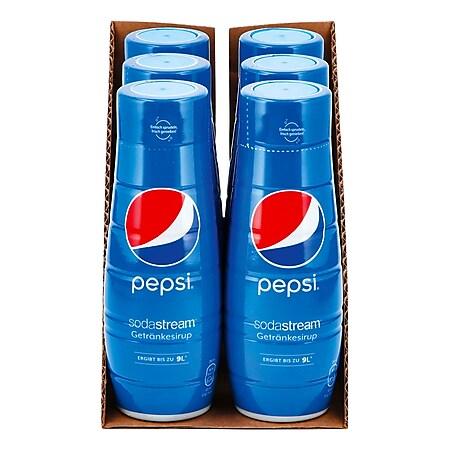 Sodastream Sirup Pepsi 0,44 Liter, 6er Pack - Bild 1
