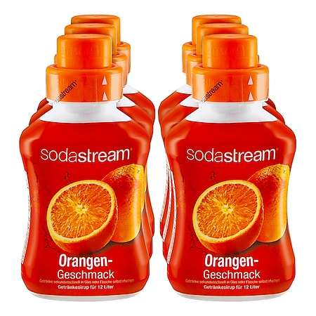 Sodastream Sirup Orange 0,5 Liter, 6er Pack - Bild 1