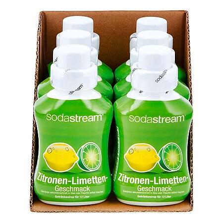 Sodastream Sirup Zitrone-Limette 0,5 Liter, 6er Pack - Bild 1