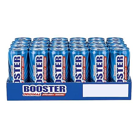 Booster Energy Drink Original 0,33 Liter Dose, 24er Pack - Bild 1