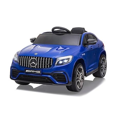 Ride-on Mercedes-Benz AMG GLC 63 S Coupé blau - Bild 1