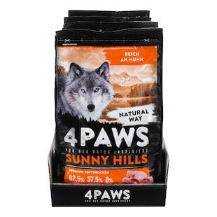Bild für 4 PAWS Hundetrockenfutter Huhn 2 kg, 4er Pack