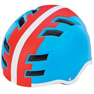 Prophete Fahrradhelm blau, einstellbarer Kopfring 55 58 cm