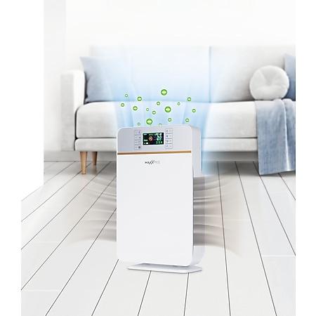 MAXXMEE Luftreiniger Digital 50W weiß/silber - Bild 1