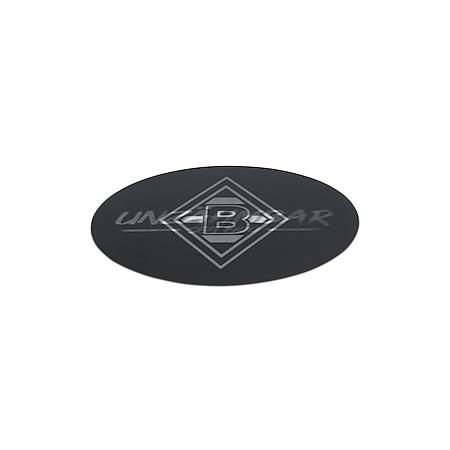 BMG Aufkleber Wechselbild 8,5cm schwarz/weiß - Bild 1