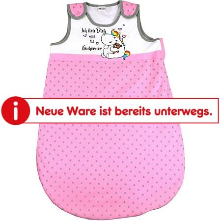 Baby Schlafsack Lizenz Pummeleinhorn Gr. 70 - Bild 1