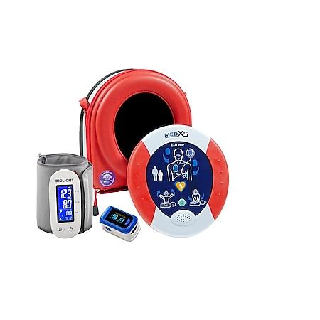 MedX5 HeartSine PAD350P Defibrillator im Set rot - Bild 1