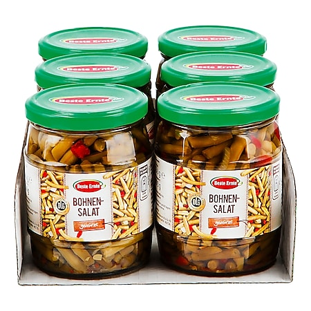 Beste Ernte Bohnen-Salat 300 g, 6er Pack - Bild 1