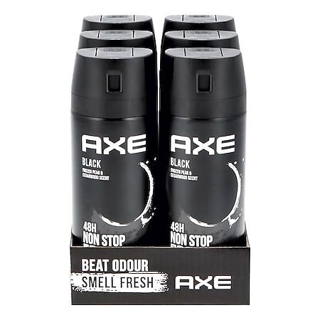 Axe Bodyspray Black 150 ml, 6er Pack - Bild 1