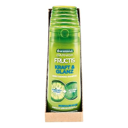 Garnier Fructis Shampoo Kraft & Glanz 250 ml, 6er Pack - Bild 1