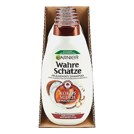 Garnier Wahre Schätze Shampoo Kokosmilch 250 ml, 6er Pack - Bild 1