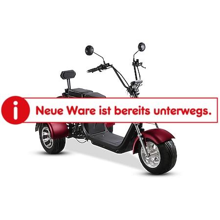 Elektro-Trike Como³ 25 km/h dunkelrot - Bild 1