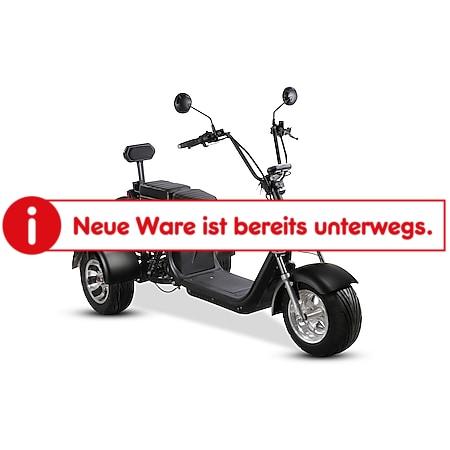 Elektro-Trike Como³ 45 km/h schwarz - Bild 1