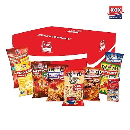 XOX Party-Snackbox, verschiedene Sorten, 5,5kg - Bild 1