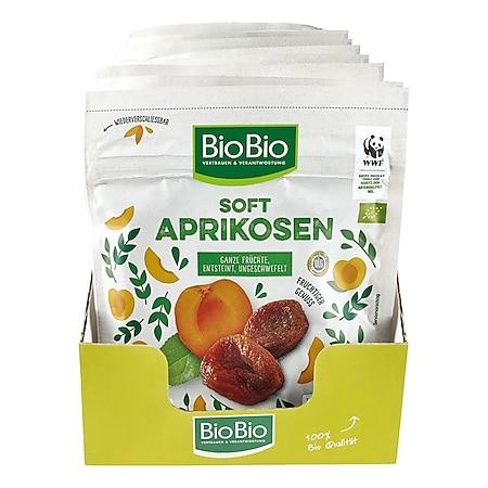 BioBio Soft Aprikosen 200 g, 10er Pack - Bild 1