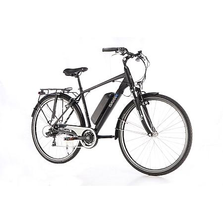 Saxxx Touring Sport Trekking E-Bike schwarz matt - Bild 1