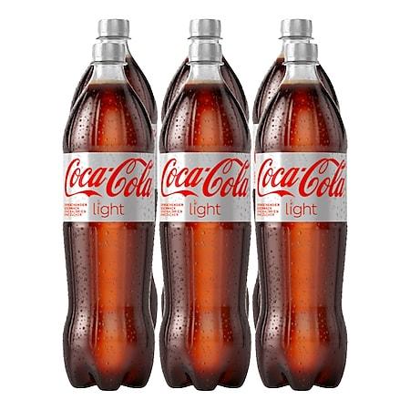 Coca-Cola Light 1,25 Liter, 6er Pack - Bild 1