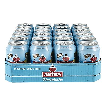 Astra Kiezmische 2,5 % vol 0,33 Liter Dose, 24er Pack - Bild 1