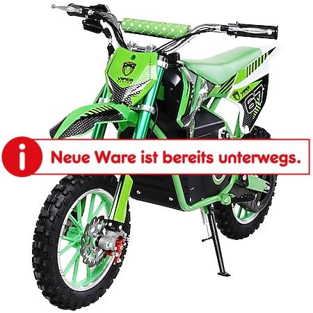 Actionbikes Motors Kinder Mini Elektro Crossbike Viper 1000 Watt 1000 Watt grün - Bild 1