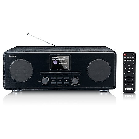 Lenco Stereo DAB+ Radio DAR-061 mit FM, CD-Player und Bluetooth - Bild 1
