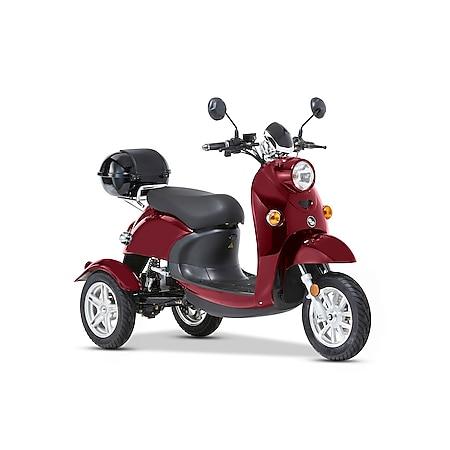 Aktivimo 3-Rad Elektromobil Modena 25 km/h – Blei-Gel 60V/20 Ah, rot - Bild 1
