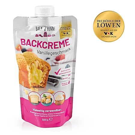 Back O Funny Backcreme 500g versch. Sorten - Bild 1