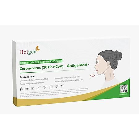 Hotgen Novel Coronavirus (2019-nCoV) Antigentest für Zuhause - Bild 1